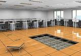 供应汇丽PVC净化房活动地板